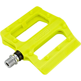HT PA12 Nano Flat pedali, neon yellow